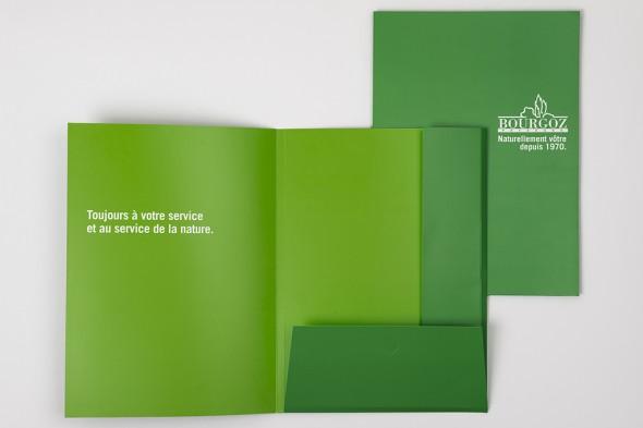 pochette présentation Bourgoz ouvert